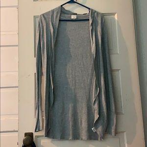 XS grey sweater